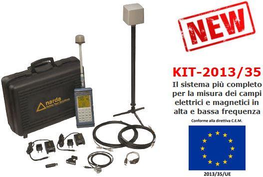 KIT 2013/35 per misure CEM secondo Direttiva Lavoratori DL81