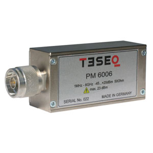 Teseq PM 6006 USB RF Power Meter 1 MHz – 6 GHz