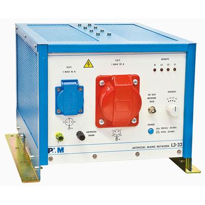 PMM L3-32 – Tre fasi più neutro, 9 KHz – 30 MHz, 32 A