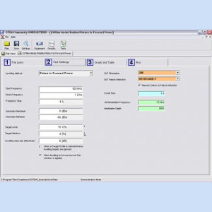 Teseq GTEM 5 Immunity Test Software