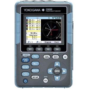 Yokogawa CW500 Power Quality AnalyzerYokogawa CW500 Power Quality Analyzer