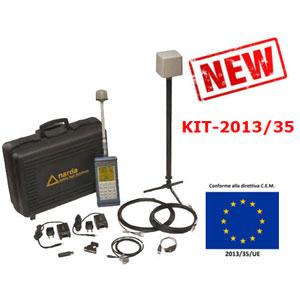 KIT 2013/35 per misure CEM secondo Direttiva Lavoratori DL81 - DL159/16